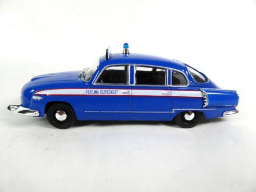 1:43 Ist Miniatur Polizei Modellauto PM43 Tatra 603 Czech Police