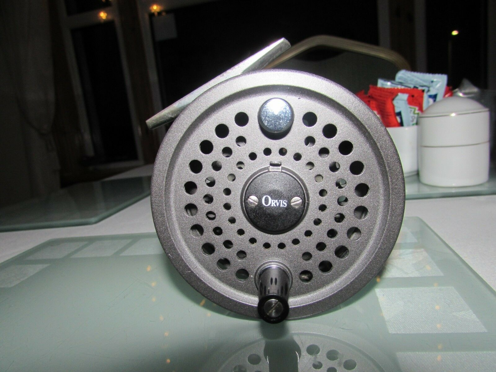 Very good orvis battenkill disc england 8 9 trout fly fishing reel 3 + 3 8ths
