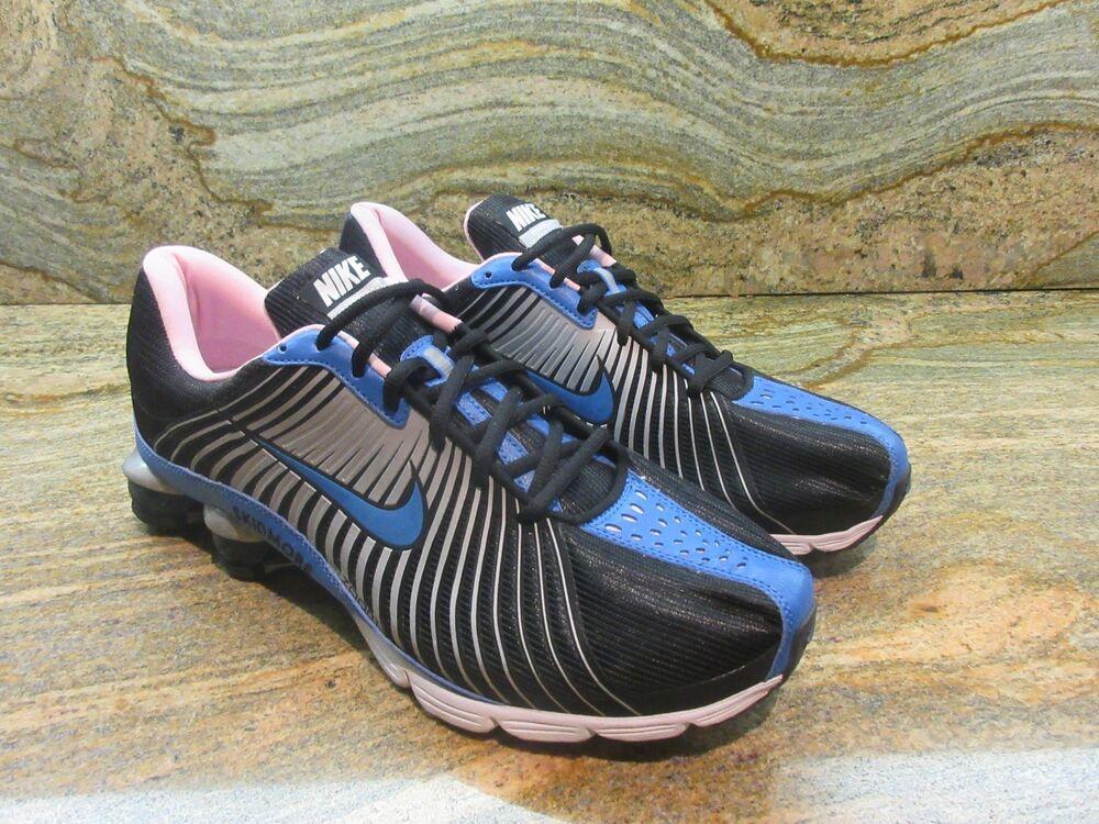 2008 Nike Shox Experience+ iD SZ 11 Skidmore noir Bleu Pink OG NZ 352337-991