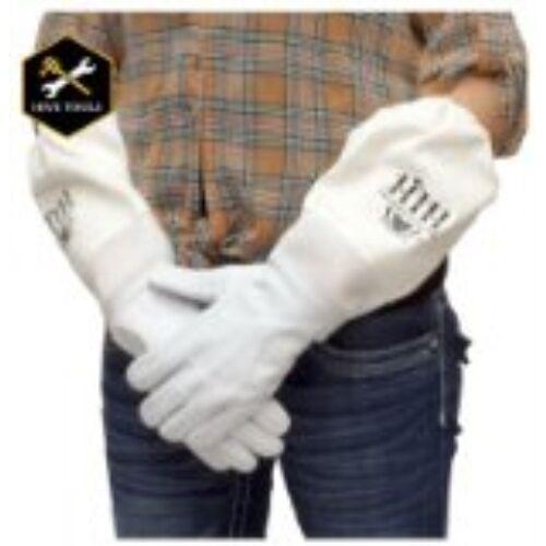 HARVEST LANE HONEY Goat Beekeep Gloves, Medium