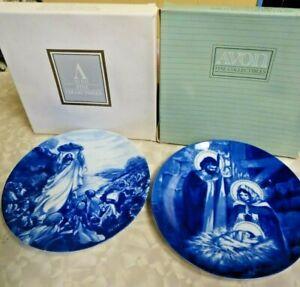 2-Avon-Religious-Christmas-plates-1991-1993-IOB