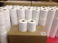 2 Rolls 4x3 Direct Thermal Labels Zebra Lp 2844 Gx Zp Models 500 /roll 1000