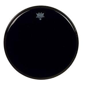 """Remo 20"""" Ebony Ambassador Bass Drum Head ES-1020-00"""
