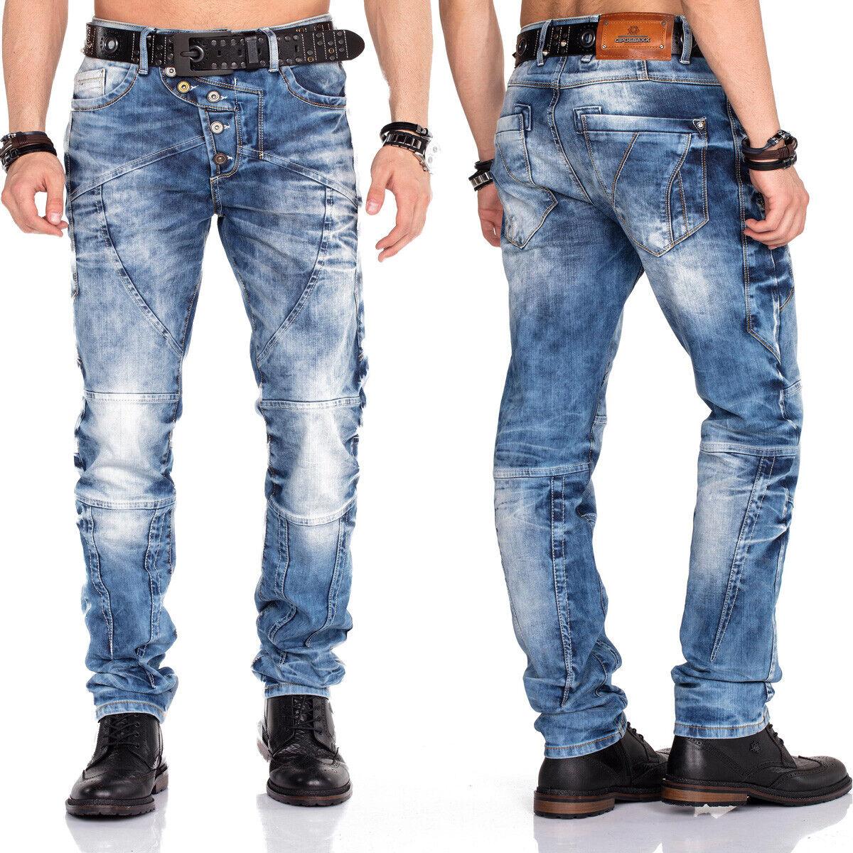 Cipo &  Baxx hombres Jeans Hose cd346 regular slim leg con o sin cinturón  descuento