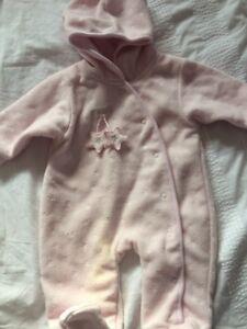 2019 DernièRe Conception Baby Girl Winter Sleepsuit Âge 3-6 Mois-afficher Le Titre D'origine Promouvoir La Santé Et GuéRir Les Maladies