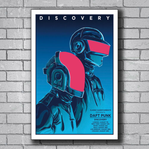 N-562 Daft Punk The Weeknd Starboy Hot Wall Poster Art 20x30 24x36IN
