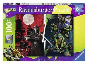 Puzzle 100 Teile XXL Teenage Mutant Ninja Turtles von Ravensburger 6+ Puzzles