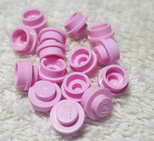 34823 30057 6141 Lego Lot Of 15 Pink Round 1x1 Plate 4073