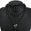 Fashion-Boho-Crystal-Pendant-Choker-Chain-Statement-Necklace-Earrings-Jewelry thumbnail 30