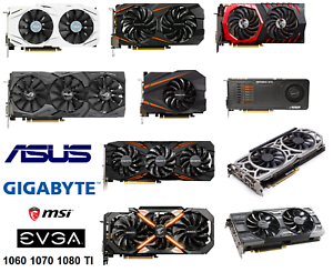GTX 10 60 70 Asus Gigabyte Gaming Video Graphics Card 3 8 GB MINI ATX DUAL