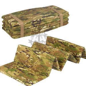 Military mtp multicam folding sleep mat sniper water for Moisture resistant insulation