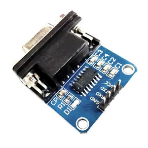 MAX232-RS232-Serial-to-TTL-Converter-Board-PIC-Adapter