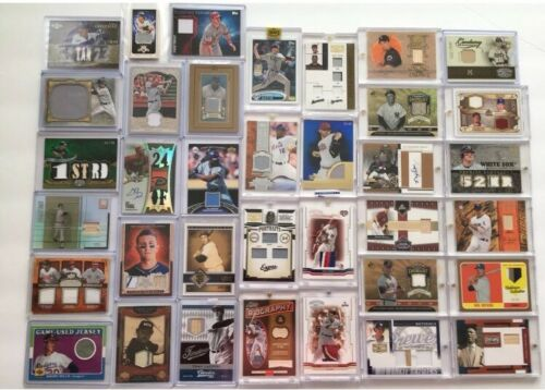 1,000+ AUTOGRAPH BASEBALL CARDS: auto/jersey/relic -3 GUARANTEED HITS!