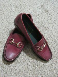 Womens Gucci Driving Loafers Horsebit