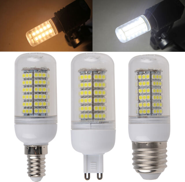 E14 E27 G9 3W 4W 5W 6W 7W 5050/3528 SMD LED Screw Corn Light Lamp Bulb Cover