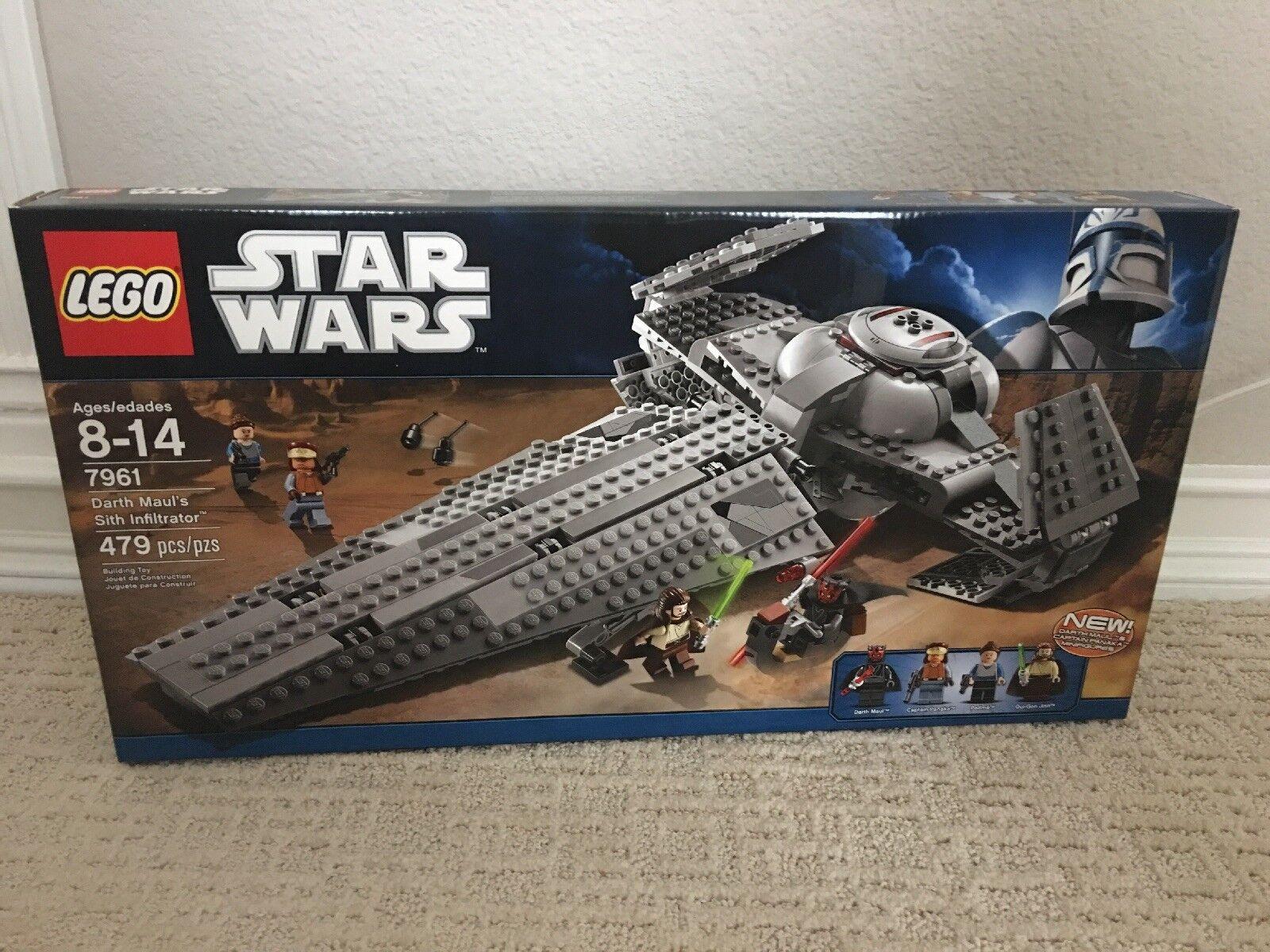 LEGO estrella guerras 7961 Darth Maul's Sith Infiltrator nuovo Sealed   acquisti online
