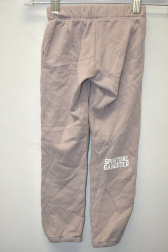 NEW SPIRITUAL GANGSTER GIRLS YOGA USA MADE RARE  SWEATPANTS LAVENDER NICE CASUAL