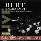 Live at the Sydney Opera House by Burt Bacharach (CD, Oct-2008, Verve)