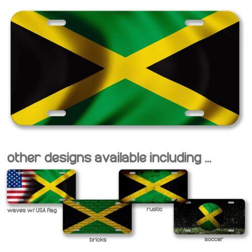Plaque d/'immatriculation-DRAPEAU DE JAMAÏQUE-Choisir Votre Design