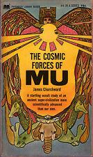 James Churchward THE COSMIC FORCES OF MU pb 1968 Ancient World Vintage-Good