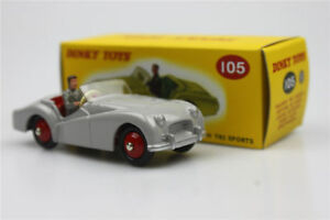Atlas-sports-car105-Triumph-TR2-Sports-Dinky-Toys-Die-casting-classic-cars-1-43