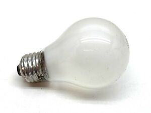 Frosted Light Bulbs >> Details About Ge 250 Volt 25 Watt A19 Frosted Incandescent Lamp Light Bulb 25w 250v Only