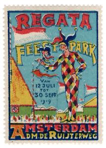 I-B-CKK-Netherlands-Cinderella-Festival-Label-Amsterdam-1919