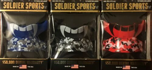 SOLDIER SPORTS CAMO ALL SPORTS MOUTHGUARD TWO PACK