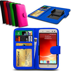 Clip-On-PU-Leather-Flip-Wallet-Book-Case-Cover-For-Lenovo-Vibe-C