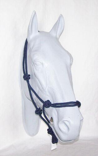 Cold Blood Knot Headcollar training ideal for floor work Horseman Ship *** NEW