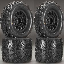"""Pro-Line 1198-13 Big Joe II 3.8"""" Mounted Tires / Wheels (4) T-Maxx Summit E-Revo"""
