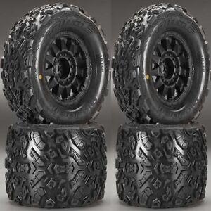 Pro-Line-1198-13-Big-Joe-II-3-8-034-Mounted-Tires-Wheels-4-T-Maxx-Summit-E-Revo