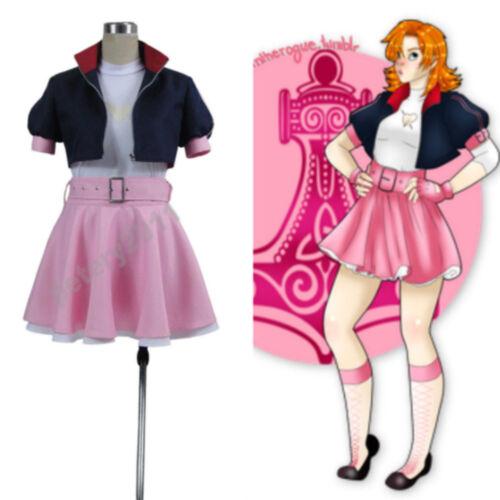 RWBY 2 A Set Fighting Nora Costumes Valkyrie Cosplay Costume custom beautiful