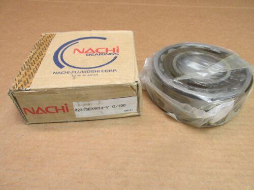 NACHI 22313EXW33 SPHERICAL ROLLER BEARING 22313 E X W33 VC100 65x140x48 mm JAPAN