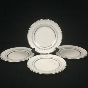 "Set of 4 VTG Bread Plates 6"" by Royal Doulton Tiara Bone China H4915 England"