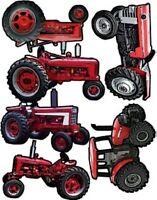 Scrapbooking 6 Individual Tractor Die Cuts