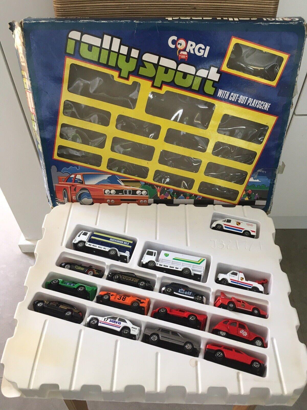 Vintage 1990 Corgi Rally Sport Box Set