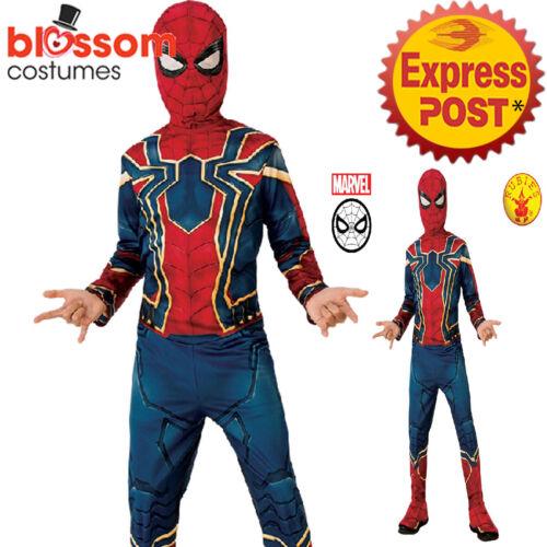 CK1259 Classic Iron Spiderman Avengers Infinity War Boys Hero Costume Spider-man
