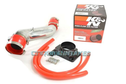 K/&N+RED 95-99 MITSUBISHI ECLIPSE GST//GSX//SPYDER//TALON 2.0 2.0L TURBO AIR INTAKE