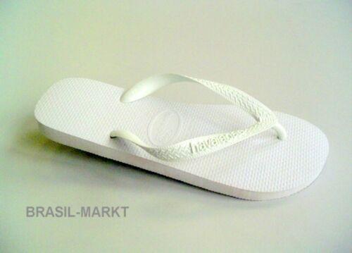 Blanc Taille 37//38 HAVAIANAS NEUF Type Top