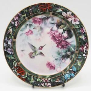 Lena-Liu-the-Anna-039-s-Hummingbird-Collector-Plate-Second-Issue-in-the-Series