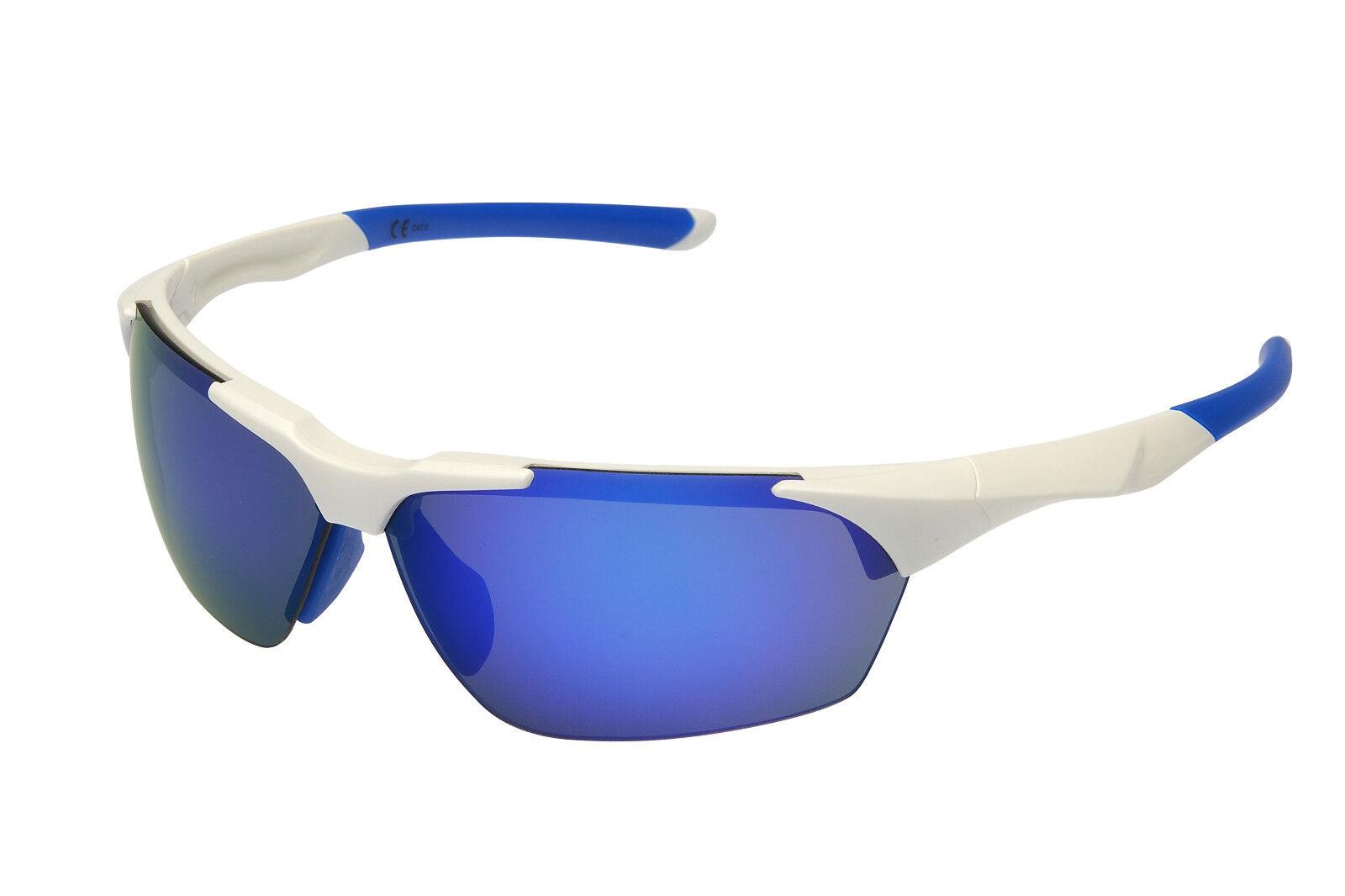 Lunettes de soleil protection stadionbrille - - Blanc Bleu - - pour Hamburg fans 1f60fc