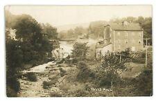 RPPC Falls Mill FALLS PA Wyoming County Pennsylvania Real Photo Postcard