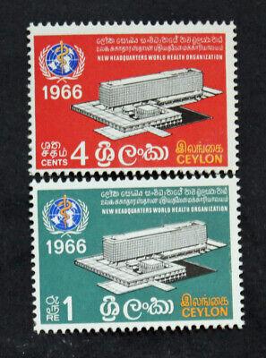 cyn32 Ideales Geschenk FüR Alle Gelegenheiten Yvert Und N Tellier°366 Et 367 Mnh Treu Briefmarke Ceylon