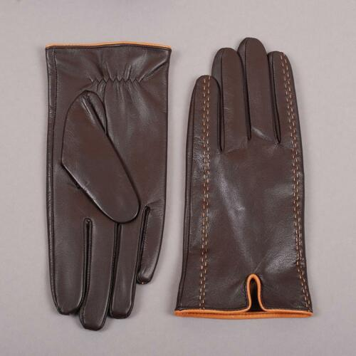 Winter Gloves For Men Genuine Leather Touch Screen New Mitten Warmer Accessories