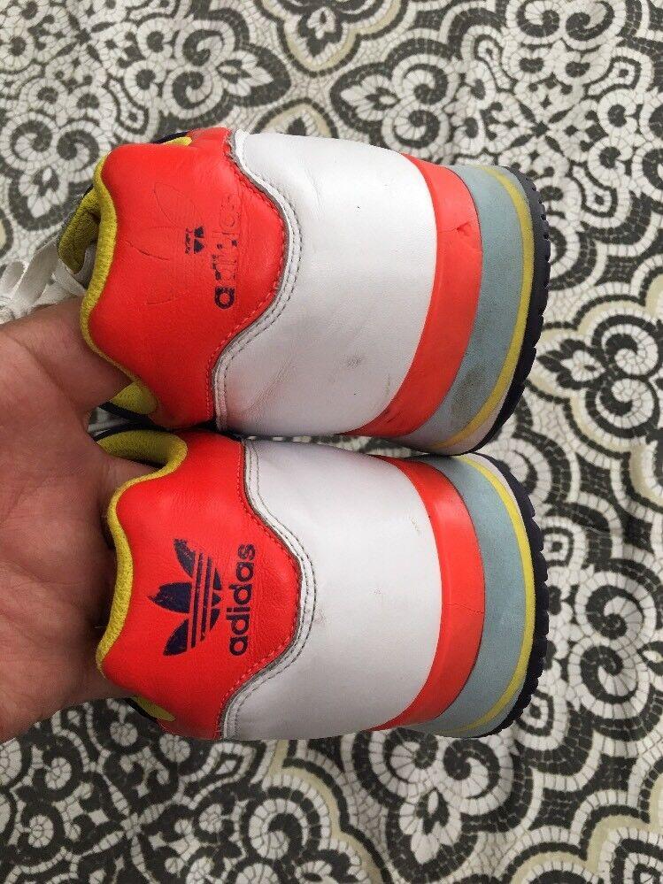 adidas farbige 3 streifen farbige adidas sneaker größe 12 euc 1b4638