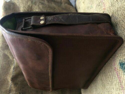 Shoulder ipad pick up Bag Men/'s New Genuine Goat Leather Messenger Laptop
