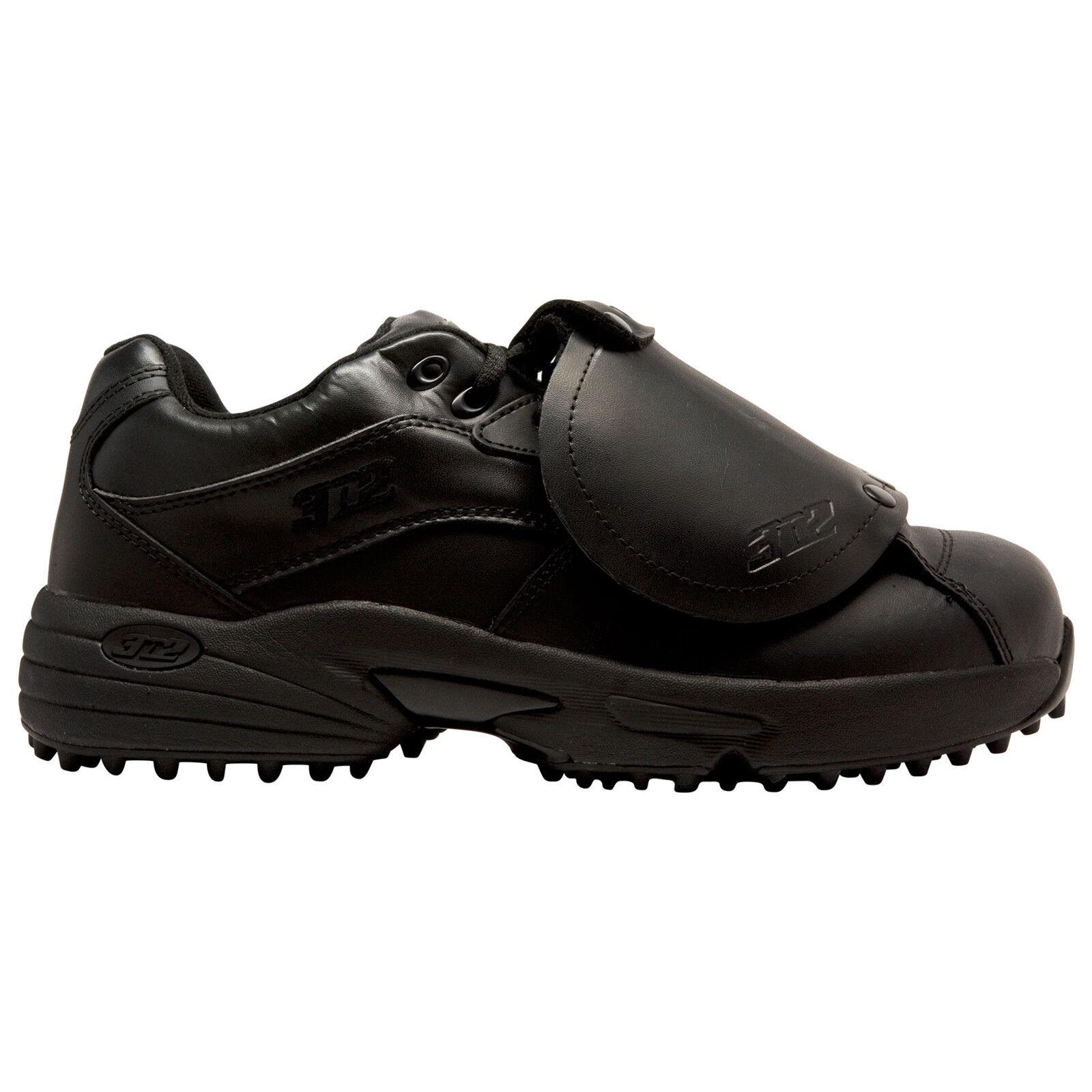 3n2 ReacBinden Pro Plate Lo mannens Baseball Umpire schoenen --zwart (NIEUW) Lists @ 95