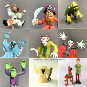 LOT Scooby-Doo Wolfman Haunted Dracula Wacky /& Shagg Frankenstein Zombie Figures