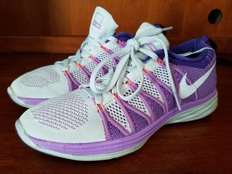 Damens Nike Cross Flyknit Lunar 2 Running Cross Nike Training Schuhes Größe 8 620658-001 520444